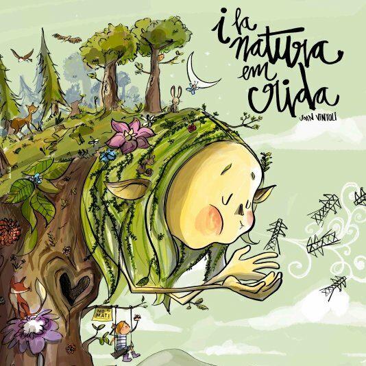 Un dibuix d'en Turu amb text de Vinyoli,  la nova imatge de No a la MAT Selva